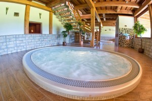 Wellness centrum Hotel Gobor Whirpool